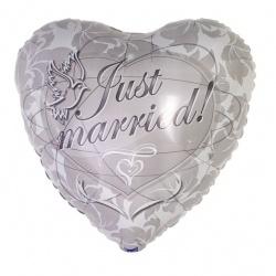 Ballon Just Married