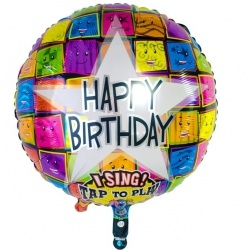 Ballon (sing) Happy Birthday