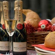 Kerst Champagne Ontbijt