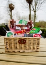 Romantische Picknickmand
